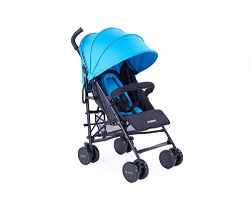 Danielstore - Baby Monsters Silla Paseo Fast Color Azul + Regalo bolso microfibra negro