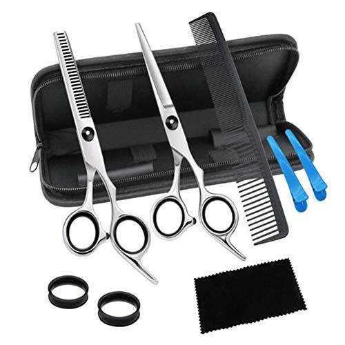 Professionelle Friseur Friseurschere Set-Ausdünnungsschere Für Friseur, Haarschere Friseurschere Für Den Heimgebrauch Mit