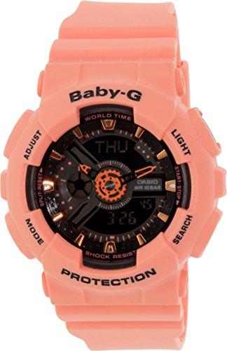 Casio Damen-Armbanduhr Analog - Digital Quarz Resin BA-111-4A2ER