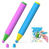 AWAVO Kids Stylus Pen for All Ages Crayon Capacitive Pencil Compatible with iPads and iPhones, Capacitive Touch Screen Tablets, Smartphones
