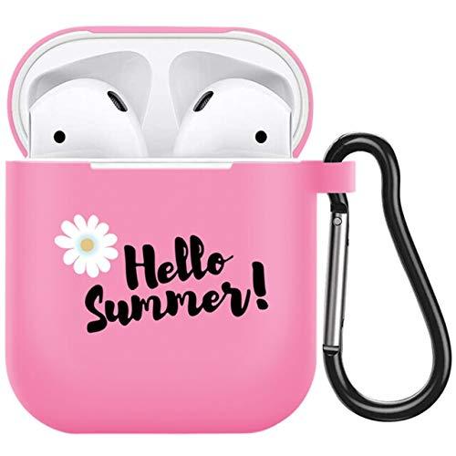 MARIAN Compatible con Apple Airpods Pro 3 Case Daisy Flower Cute Candy Funda de silicona para auriculares compatible con Air Pods 1 2