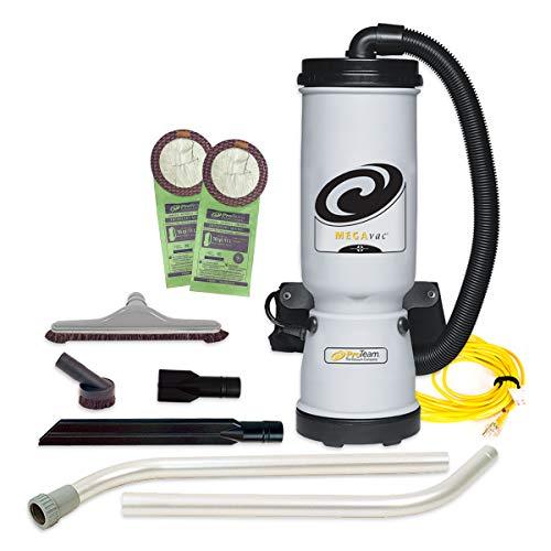 ProTeam MegaVac Backpack Vacuum, Horse Hair Brush & Blower Tool Kit B