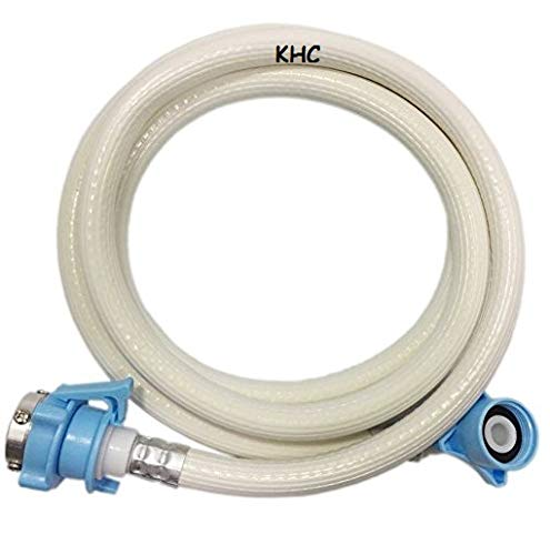 KHC Inlet Hose Pipe with Tap Adaptor for Fully Automatic Washing...