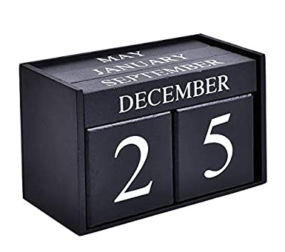 Wooden Desk Block Calendar