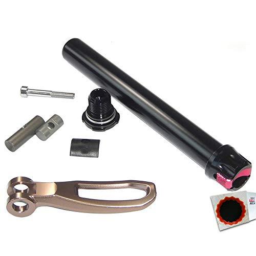 SR-Suntour Q-LOC Achse kpl. f. 20mm QR f. RUX QR-Type + SCHLAUCHFLICKEN