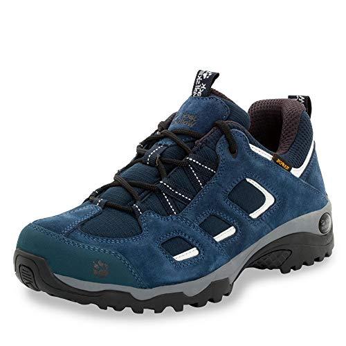 Jack Wolfskin Herren Vojo Hike 2 Texapore Low M Wasserdicht Trekking-& Wanderhalbschuhe, Blau (Night Blue 1010), 40 EU