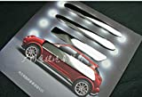 Para Nissan Juke 2014-2020 accesorios cromo puerta manija cubierta TRIM 4pcs YGAODWQ