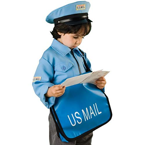Constructive Playthings Max 46% OFF Max 80% OFF Mailman Boy Kids Ha and with Costume Bag