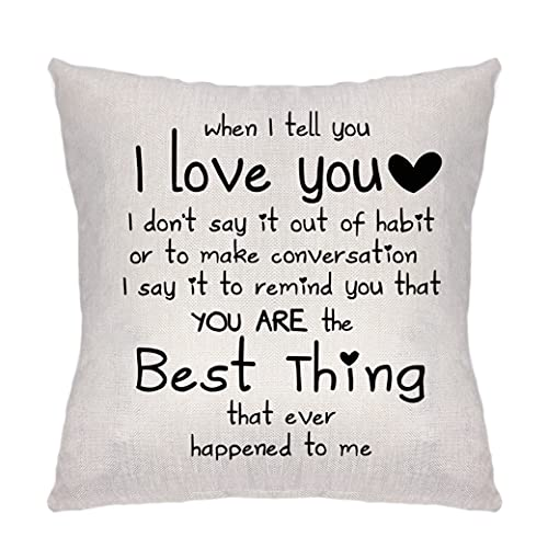 Krifton Romantic Quote I Love You You're The Best Things That Ever Happened...