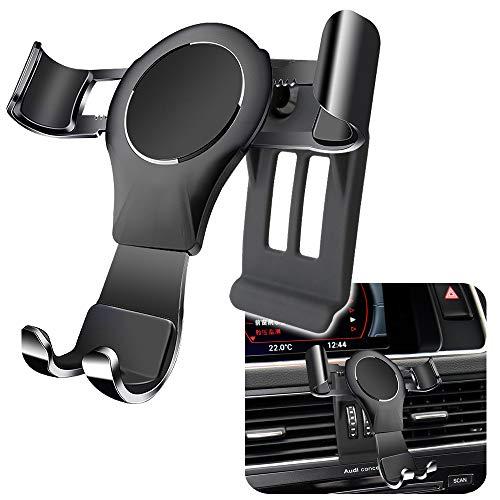 LUNQIN Car Phone Holder for 2008-2016 Audi Q5 SQ5 Auto Accessories Navigation Bracket Interior Decoration Mobile Cell Phone Mount