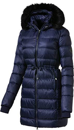 McKINLEY Damen Warmer Winter Daunenmantel Tia Daune Feder Parka blau 280769, Größe:42, Farbe:519 Navy Dark/Dunkelblau Blau