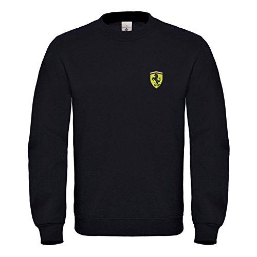 Ferrari Auto Bestickte Logo Sweatshirt Premium Qualität - 6080 (XXL)