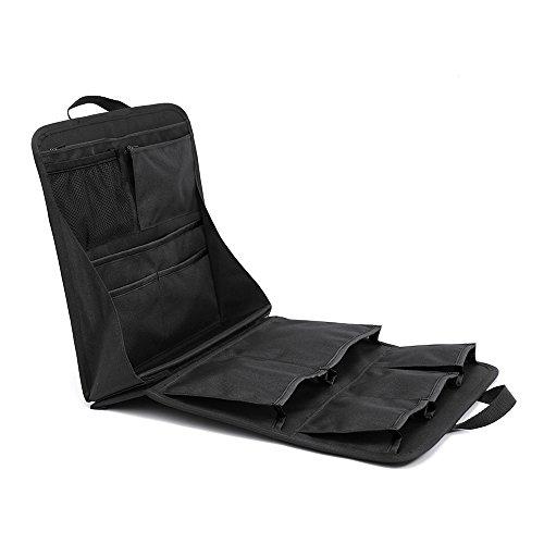 リュックインバッグ 2in1 リバーシブル リュックインナーバッグ メンズ レディース バッグインバッグ 収納整理 ノースフェイスのヒューズボックス等の大容量リュック用 整理 大きめ A4 ブラック×ブラック