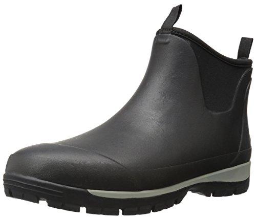 Kamik Men's LarsLO Rain Boot, Black, 7 Medium US