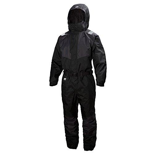 Helly Hansen Workwear Winteroverall Leknes Suit wasserdichter isolierter Arbeitsoverall 999, Große 46, schwarz, 71613