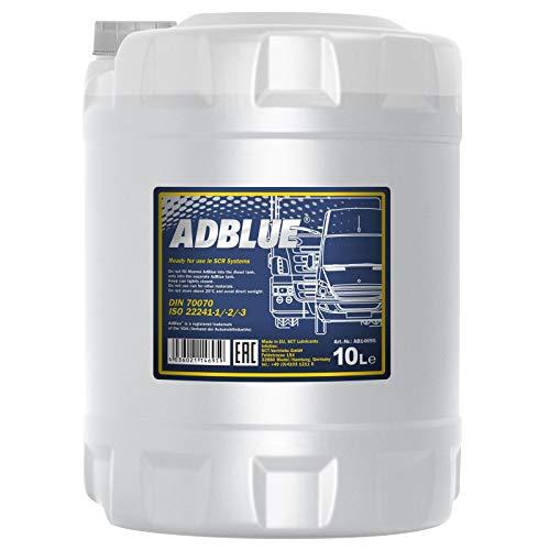 MANNOL 2AD00010000 10 litros ADBLUE SCR Abgasnachbehandlung automóviles Camiones Reduktionsmittel