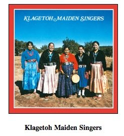 Klagetoh Maiden Singers Navajo / Southeast American Indian Music LP