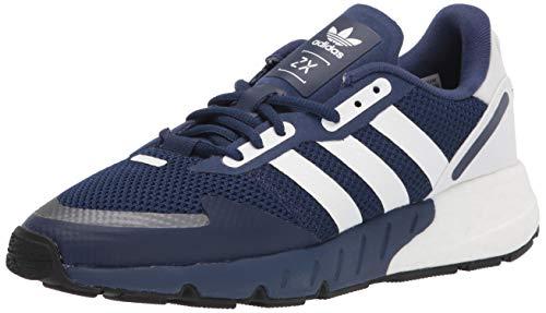 adidas Originals Men's ZX 1K Boost Sneaker, Dark Blue/White/Black, 8.5