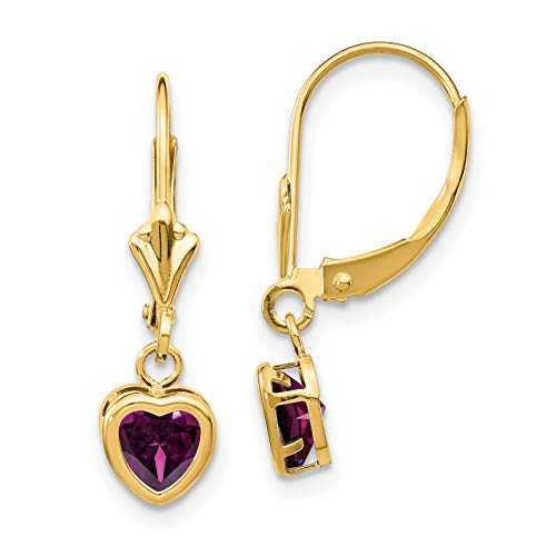 Garnet Quartz 18k Gold Plated 925 Sterling Silver Bezel Handmade Stud Earrings CZ Earrings