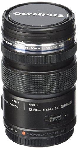Olympus M.Zuiko Digital ED 12-50mm F3.5-6.3 EZ Lens, for Micro Four Thirds Cameras