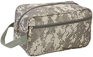 Maxam Extreme Pak Water-Resistant Travel Bag, Perfect for Overnight Stays Anywhere, Digital Camo, 11-inch