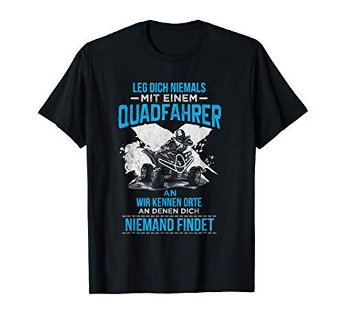 Quad Fahrer Shirt Offroad Biker lustiges Quad Fahrer Biker T-Shirt