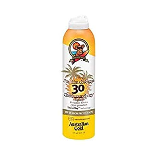 Australian Gold SPF 30 Spray copertura Premium, 10131, Confezione 1er (1 x 0,177 l)