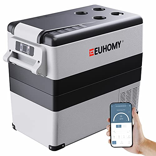 Euhomy Car Refrigerator, 55Liter(59qt) RV...