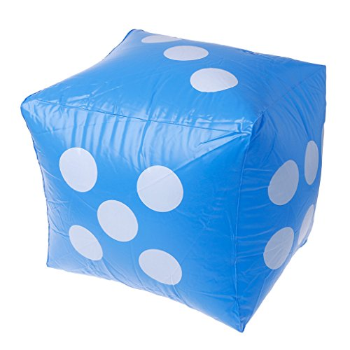 ZJL220 40cm Giant Inflatable Dice Beach Garden Party Game Outdoor Children Kid Toy