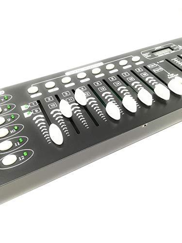 Centralina dmx mixer controller luci disco effetti dj 192 canali dmx