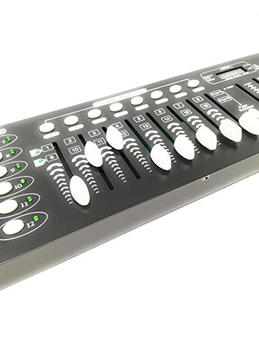 - Ohne Markenzeichen / allgemein- DMX Mixer Controller Lichter Disco-Effekte DJ 192 Kanäle DMX 512