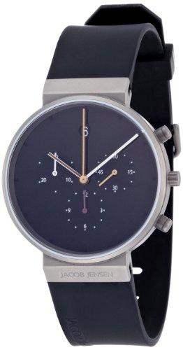[ヤコブ・イェンセン] 腕時計 600 正規輸入品 ブラック