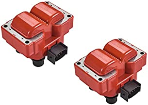 ENA Set of 2 Direct Ignition Coil Pack Compatible with Ford Lincoln Mercury Crown Victoria F150 F250 Explorer Expedition Mustang Van L4 V8 4.6L 5.0L Replacement for FD487