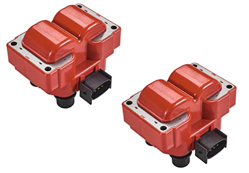 Set of 2 Direct Ignition Coil Pack for 1992-1999 Ford Crown Victoria F150 F250 Explorer Expedition Mustang Van Lincoln Mercury L4 V8 4.6L 5.0L