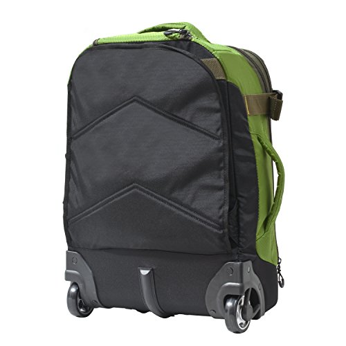 Olympia Cascade 20' Outdoor Upright Carry-on W/Hideaway Backpack Straps, Green