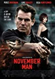 November Man – Pierce Brosnan – Dutch Movie Wall Poster