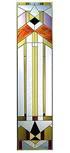 MCR Fancy Glass Deco-tectural, Buntglasscheibe, 25,6 x 106,7 cm