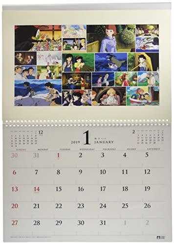 Studio Ghibli Art Frame Try-X Wall Calendario De Pared 2019 Anime [Oficial] [Importación Japonesa]