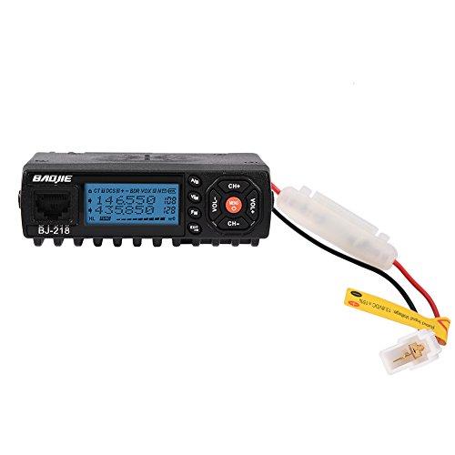 VBESTLIFE UKW-Autoradio, VHF/UHF-Dualband-Funkgerät, Walkie-Talkie mit Zigarettenanzünderkabel für Fahrzeuge, LKW usw.