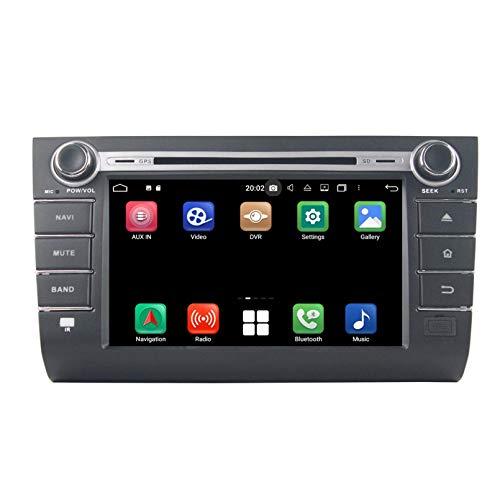 8 Pollici Touchscreen Lettore DVD Android 10.0 Autoradio per Suzuki Swift(2006-2010), Navigazione GPS DAB+ Radio Bluetooth