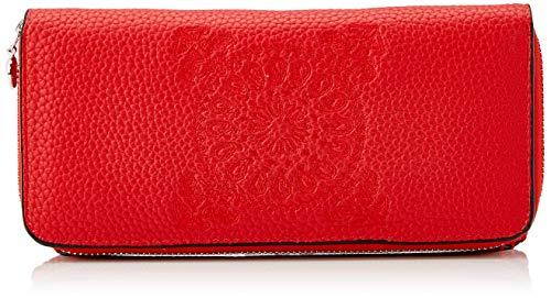Desigual Wallet Soft Bandana Maria, Portafogli Donna, Rot (Rojo Fuerte), 9.5x3x20.2 centimeters (B x H x T)