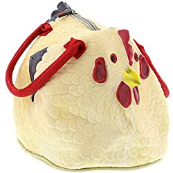 Rubber Chicken Purse - The Hen Bag Handbag gag gift for women who wants nothing