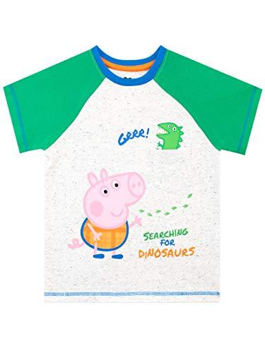 Peppa Wutz Jungen George Wutz T-Shirt Grün 104
