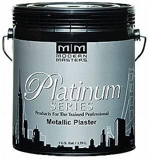 Modern Masters PSMP759-GAL Metallic Plaster, Pale Gold, 1-Gallon