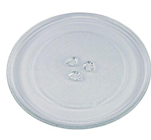 VIOKS Mikrowellenteller Teller Drehteller Glasteller für Mikrowelle Herd Universal Durchmesser: 275 mm 27,5 cm