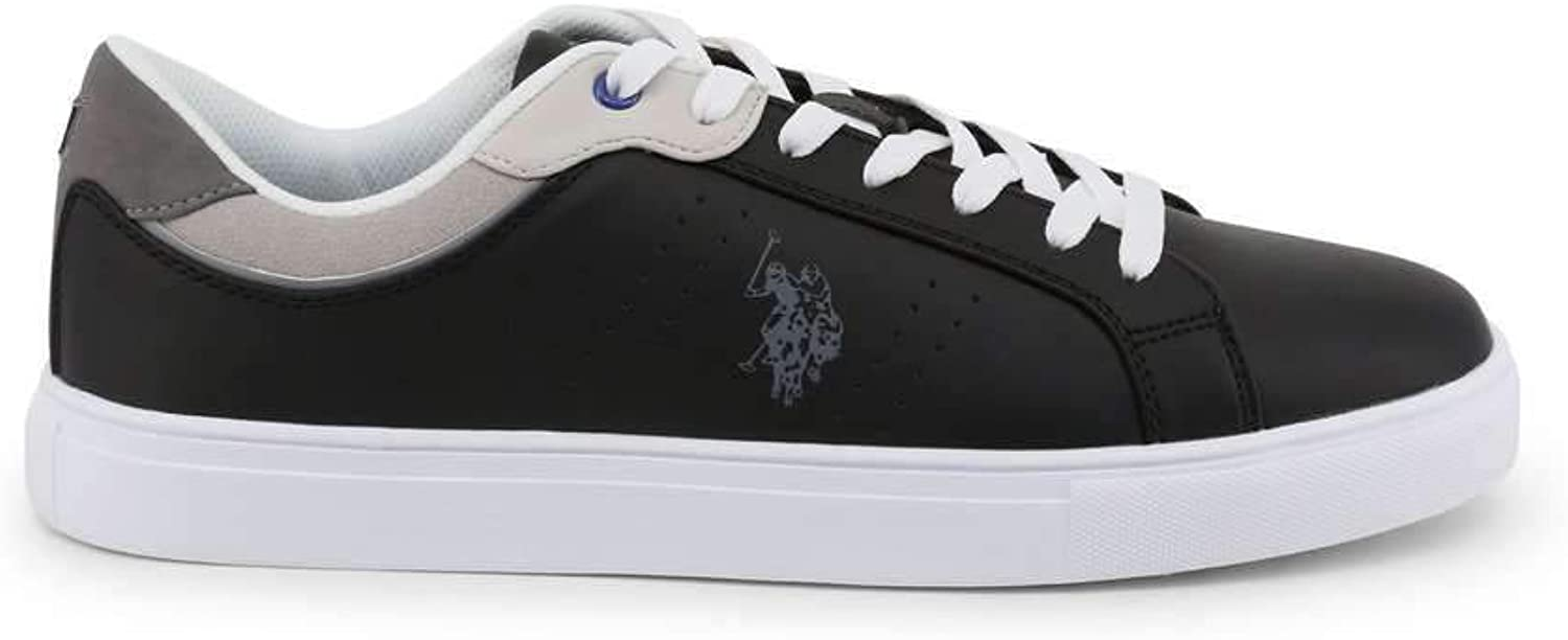 U.S. Polo Men Sneakers shoes Black Running Trainers