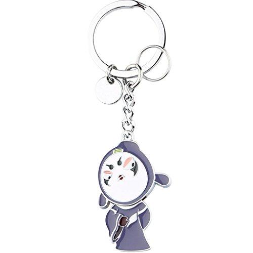 LJX Lindo Creativo Chino Mono Rey Llavero Coche Colgante Bolsa Colgante Creativo Moda Monedero de Dibujos Animados Accesorios Llavero graduación Regalo Regalo de cumpleaños Key Ring (Shape : A2)