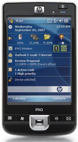 HP iPAQ 214 Enterprise Handheld (Windows Mobile 6.0)