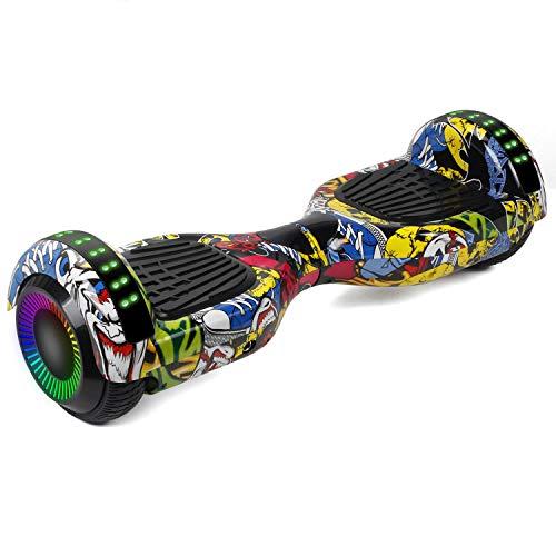 """jolege Hoverboard 6.5\""""Due Ruote Elettrico Smart Self Balance Board con LED Wheel Hoverboard Bambini - Certificato UL2272"""