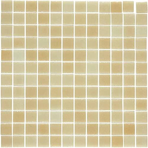 e-ceramica 8436028840205 Mosaico Cristal Beige